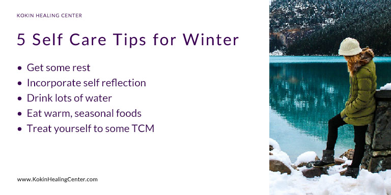 Five Self Care Tips for Winter