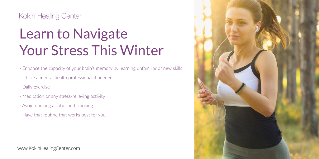 Learn to Navigate Your Stress This Winter