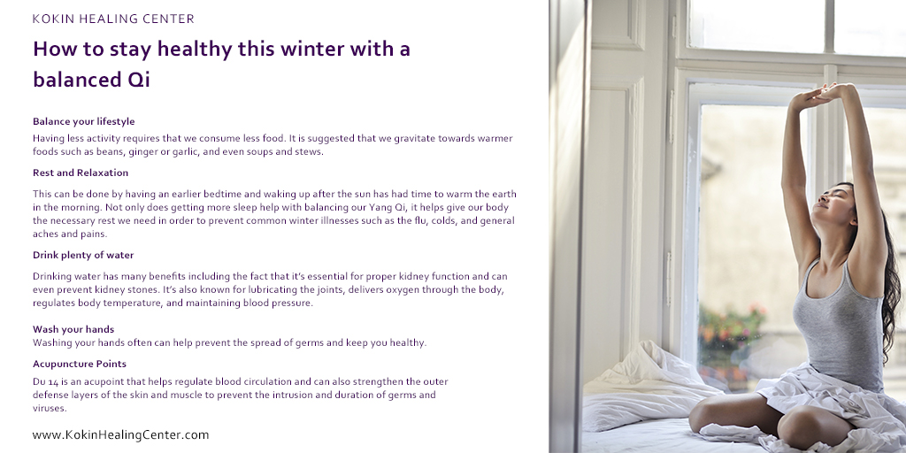 How to Stay Healthy This Winter with a Balanced Qi