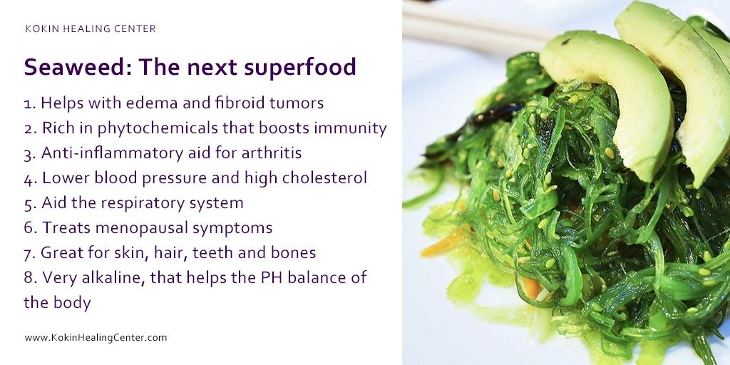 Seaweed: The next superfood