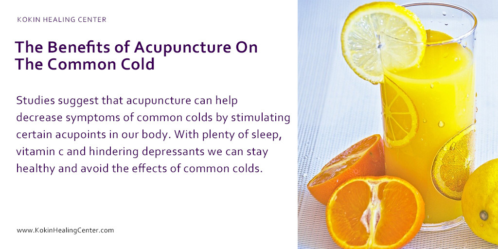 The Benefits of Acupuncture On The Common Cold