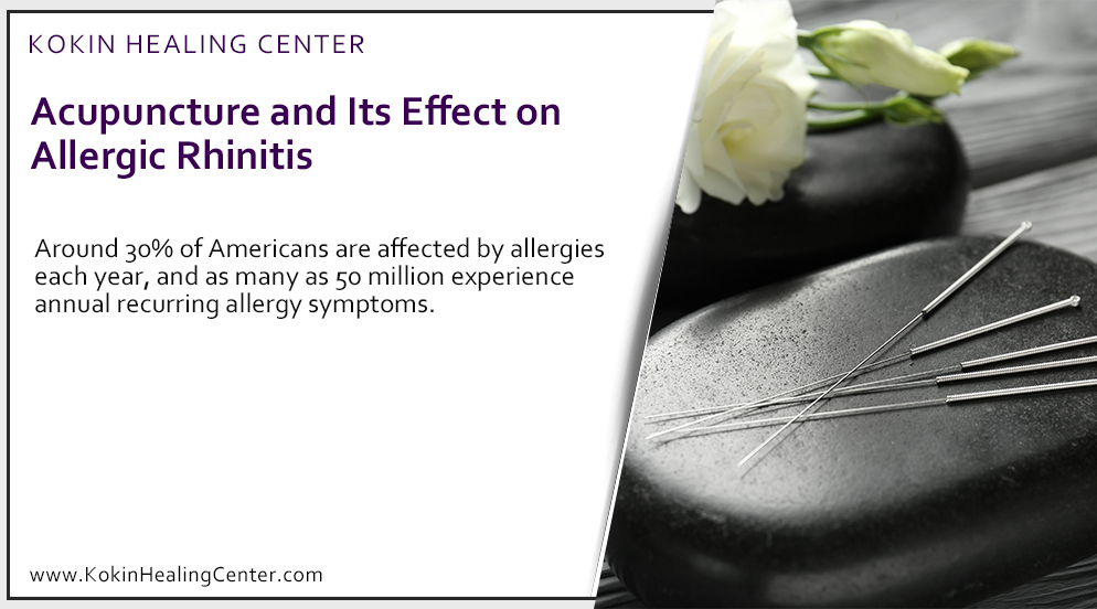 Acupuncture, and Its Effect on Allergic Rhinitis