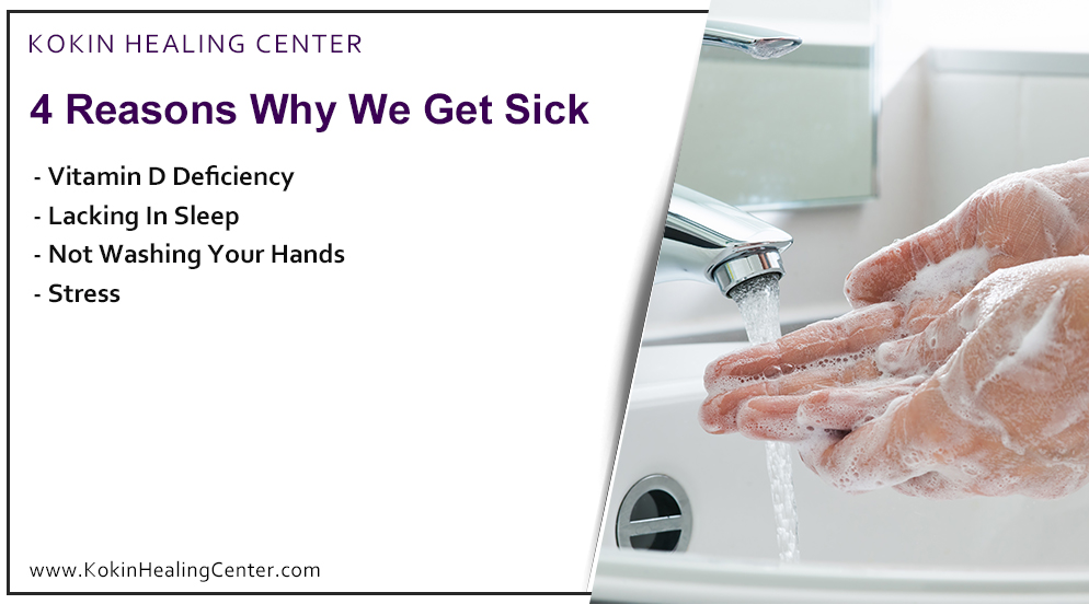 4 Reasons Why We Get Sick